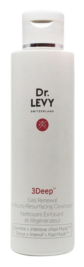 Dr. Levy Switzerland 3 Deep Cell Renewal Micro-Resurfacing Cleanser