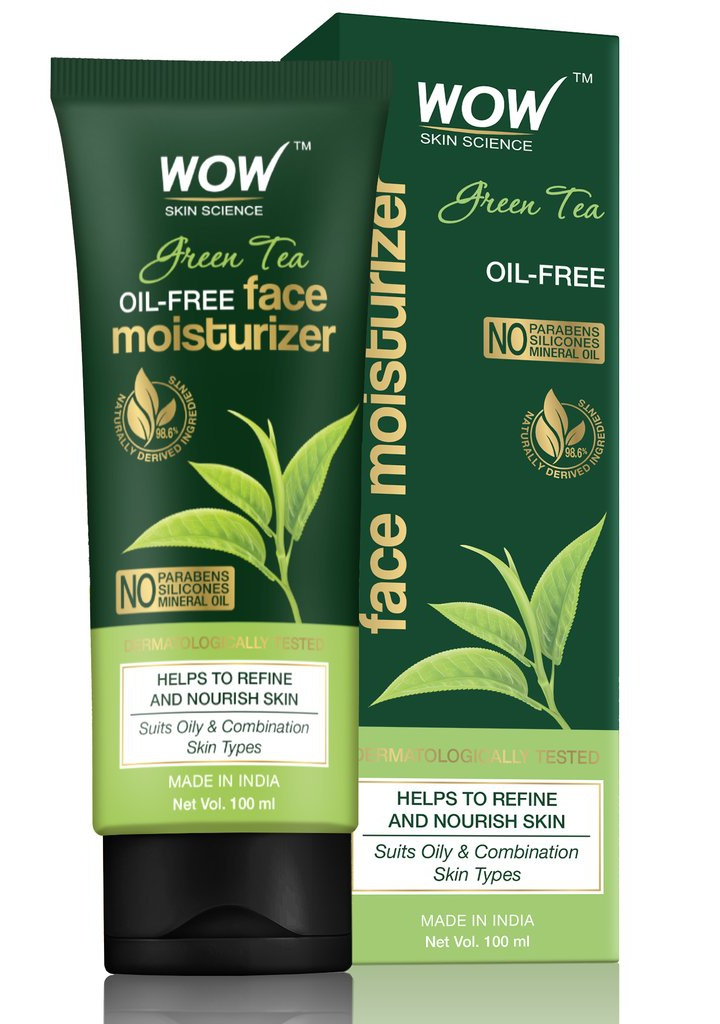 WOW skin science Green Tea Face Moisturizer