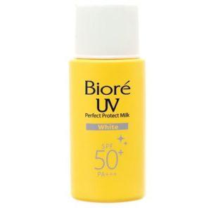 Biore Uv Perfect Protect Milk White Spf 50+ Pa+++