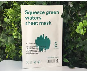 E Nature Squeeze Green Watery Sheet Mask (25 Gram)
