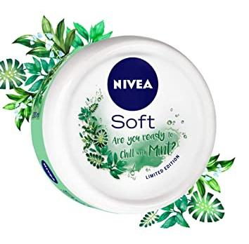 Nivea Soft Light Moisturizer Chilled Mint
