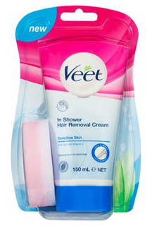 Veet Silk & Fresh In-Shower Hair Removal Cream Sensitive Skin