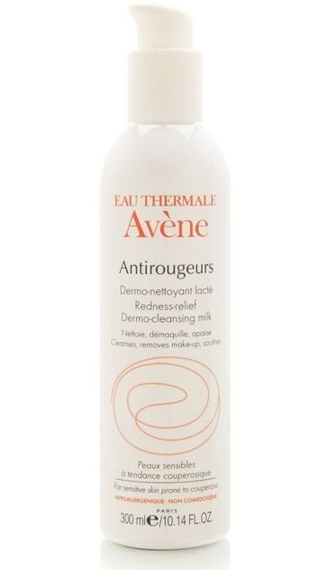 Avene Antirougeurs Cleansing Milk Bottle
