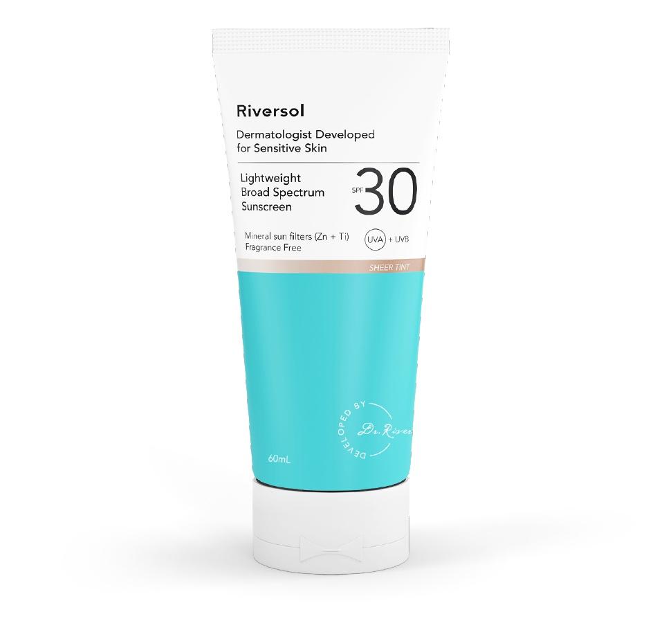 Riversol Spf 30 Lightweight Broad Spectrum Sunscreen