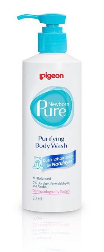 Pigeon Newborn Pure Purifying Baby Wash