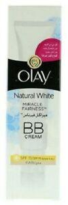 Olay Natural White Miracle Fairness BB Cream Fair SPF 15
