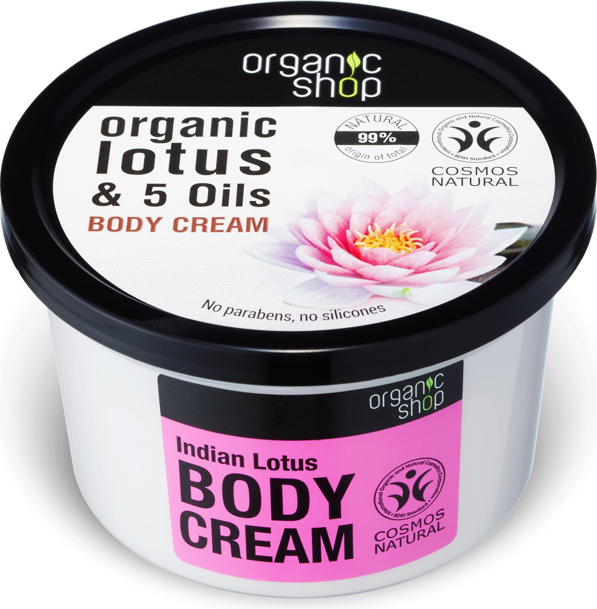 Organic Shop Indian lotus  body cream
