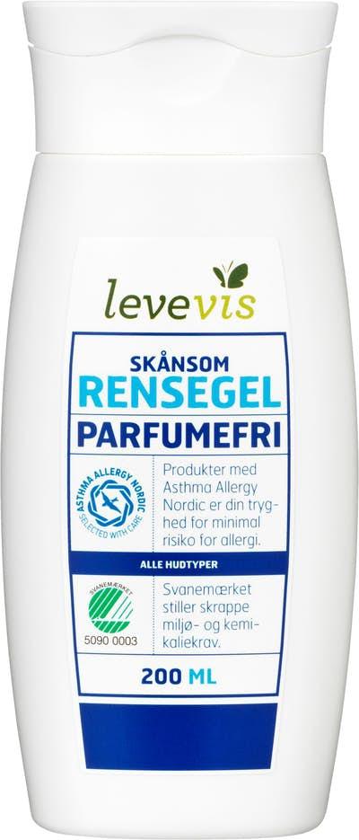 Levevis Gentle Cleansing Gel / Skånsom Rensegel