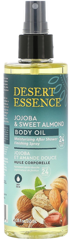 Desert Essence Jojoba & Sweet Almond Body Oil