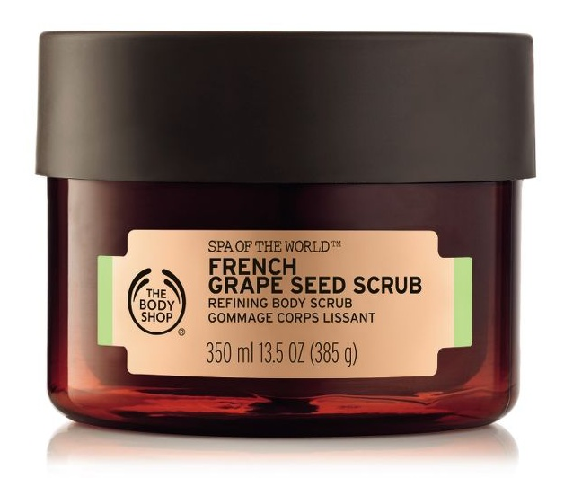 The Body Shop Spa Of The World™ French Grape Seed Scrub