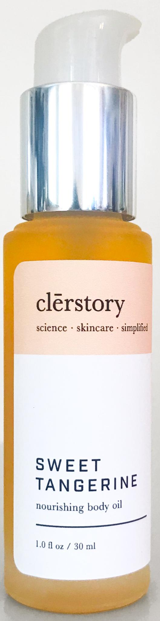 clērstory Sweet Tangerine Nourishing Body Oil