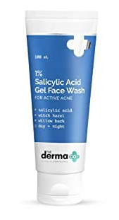 The derma CO 1% Salicylic Acid Gel Face Wash