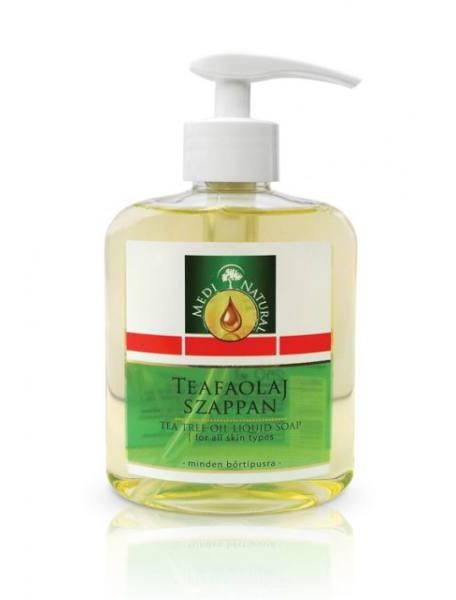 MediNatural Tea Tree Liquid Soap