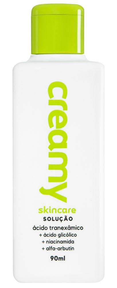 Creamy Solução Ácido Tranexâmico + Ácido Glicólico + Niacinamida + Alfa-Arbutin