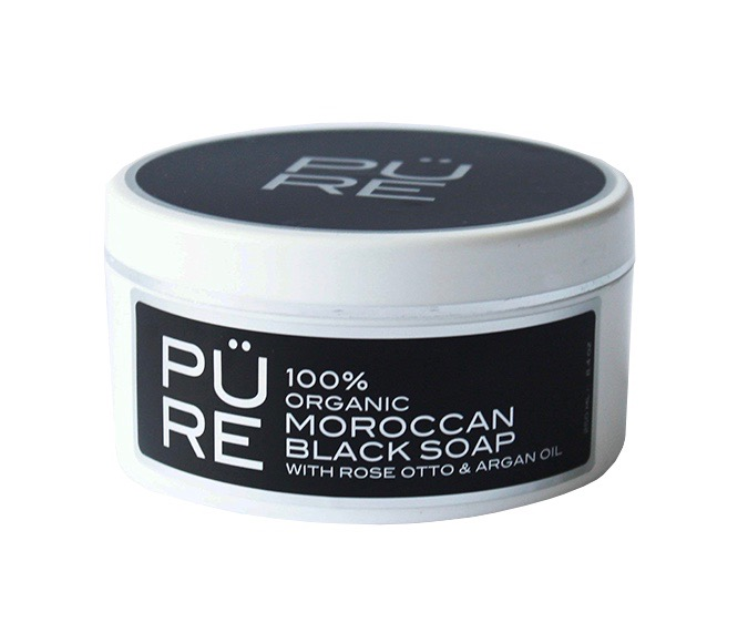 The PÜRE Collection Moroccan Black Soap