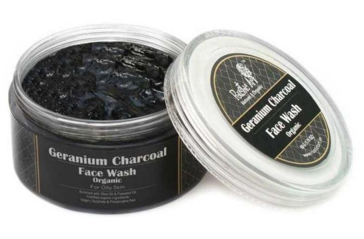 Rustic art Geranium Charcoal Face Wash Concentrate