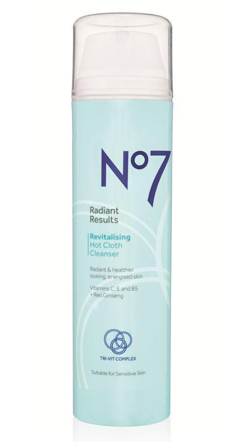 No7 Radiant Results Revitalising Hot Cloth Cleanser