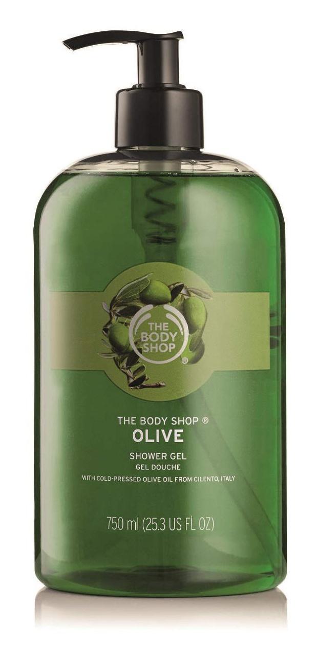 The Body Shop Jumbo Olive Shower Gel