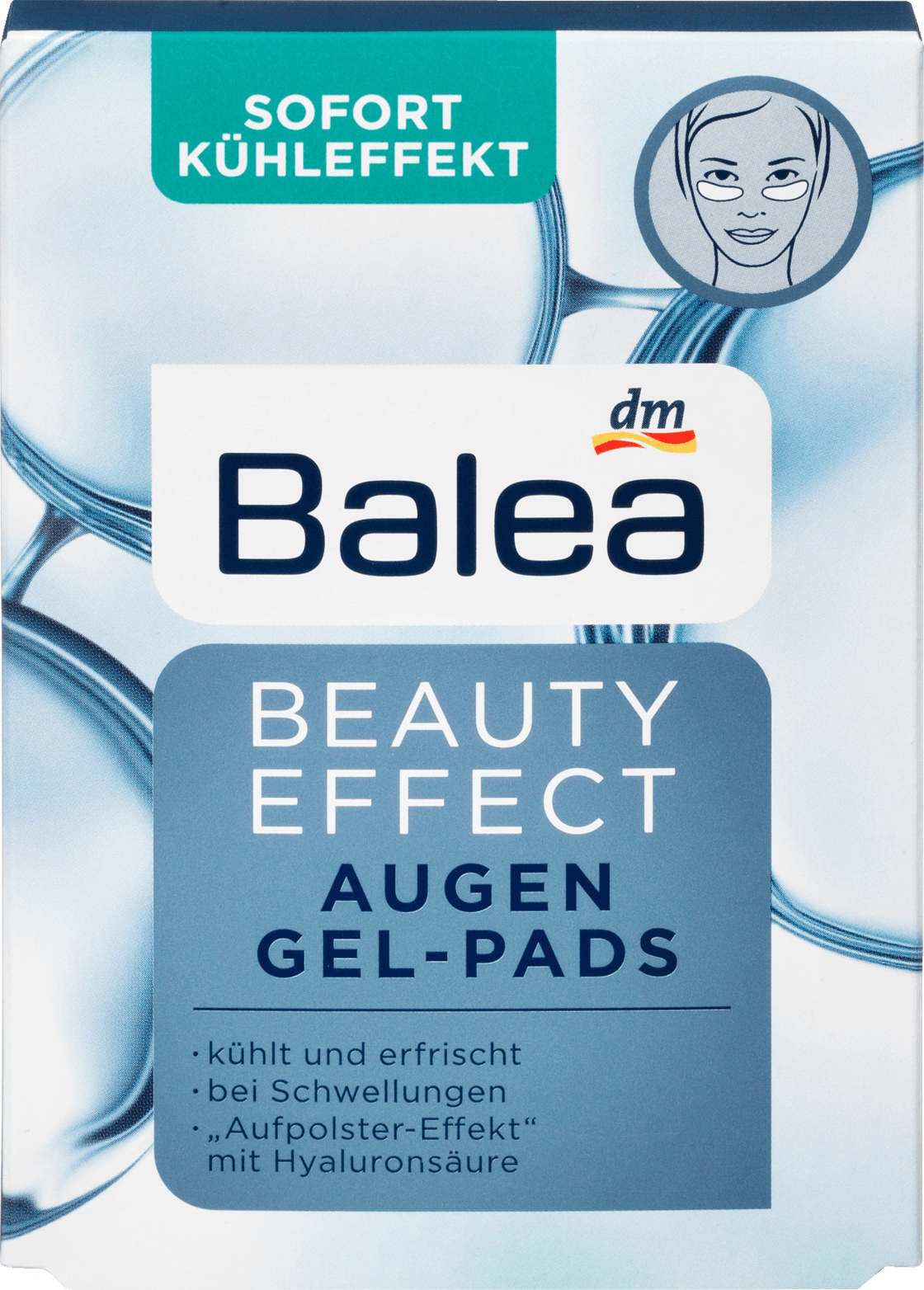 Balea Balla Augenpads Beauty Effect Gel-Pads