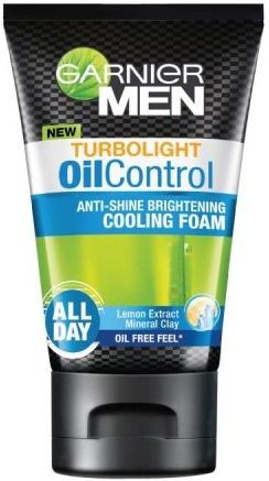 Garnier Men Anti-Shine Brightening Cooling Foam