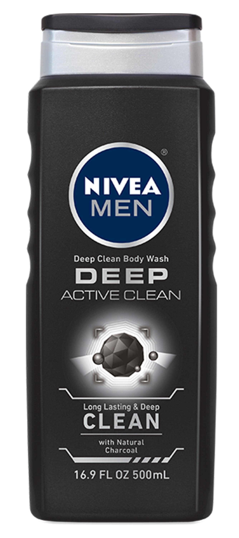 Nivea Men Deep Active Clean Body Wash With Natural Charcoal