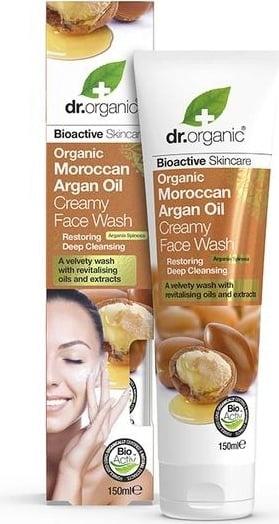 Dr Organic Moroccan Argan Oil Creamy Face Wash