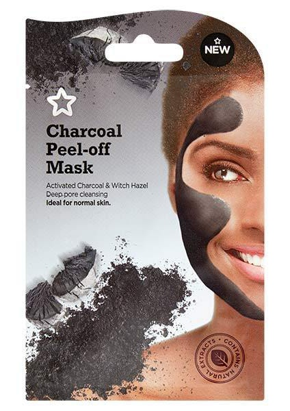 Superdrug Charcoal Peel-Off Mask