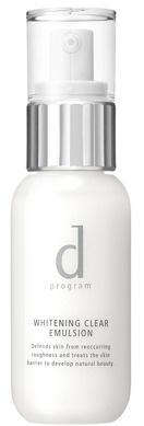 D Program Whitening Clear Emulsion Lotion