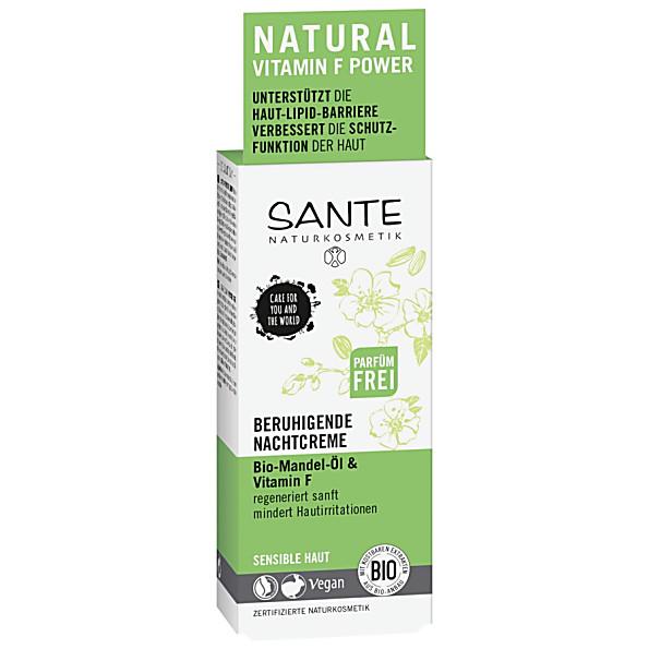 Sante Naturkosmetik Soothing Night Cream