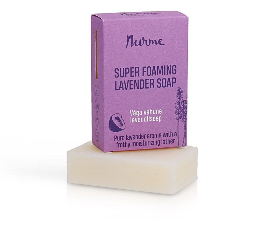 Nurme Super Foaming Lavender Soap