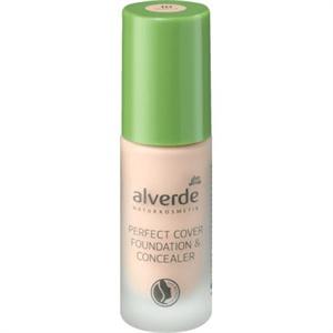 Alverde Naturkosmetik Perfect Cover Foundation & Concealer