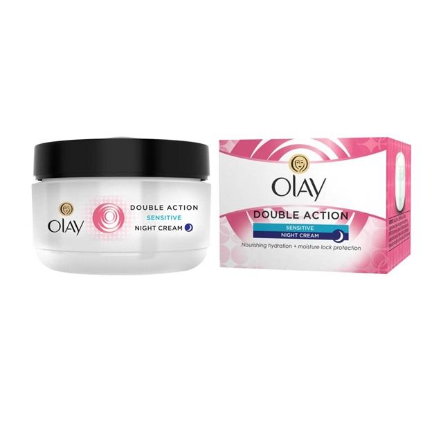 Olay Anti-Wrinkle Sensitive Skin Night Cream Moisturiser