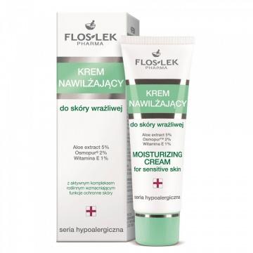 Floslek Moisturizing Face Cream For Sensitive Skin