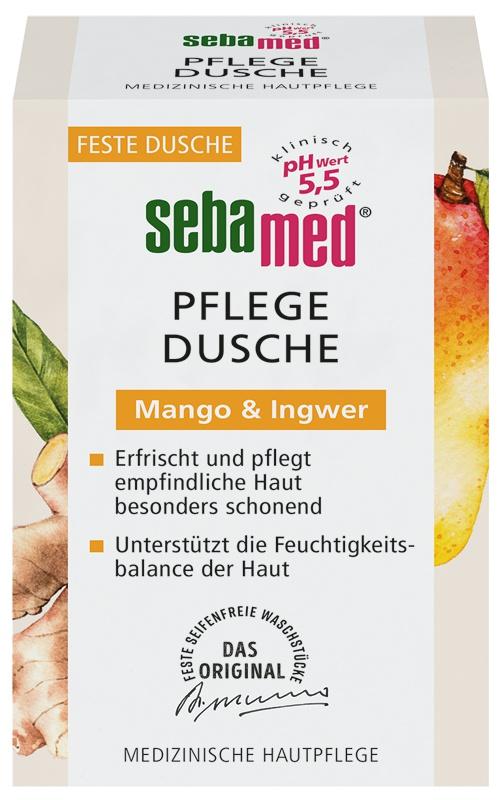 Sebamed Pflege-Dusche Mango & Ingwer Waschstück