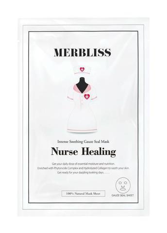 Merbliss Nurse Healing Intense Soothing Gauze Seal Mask