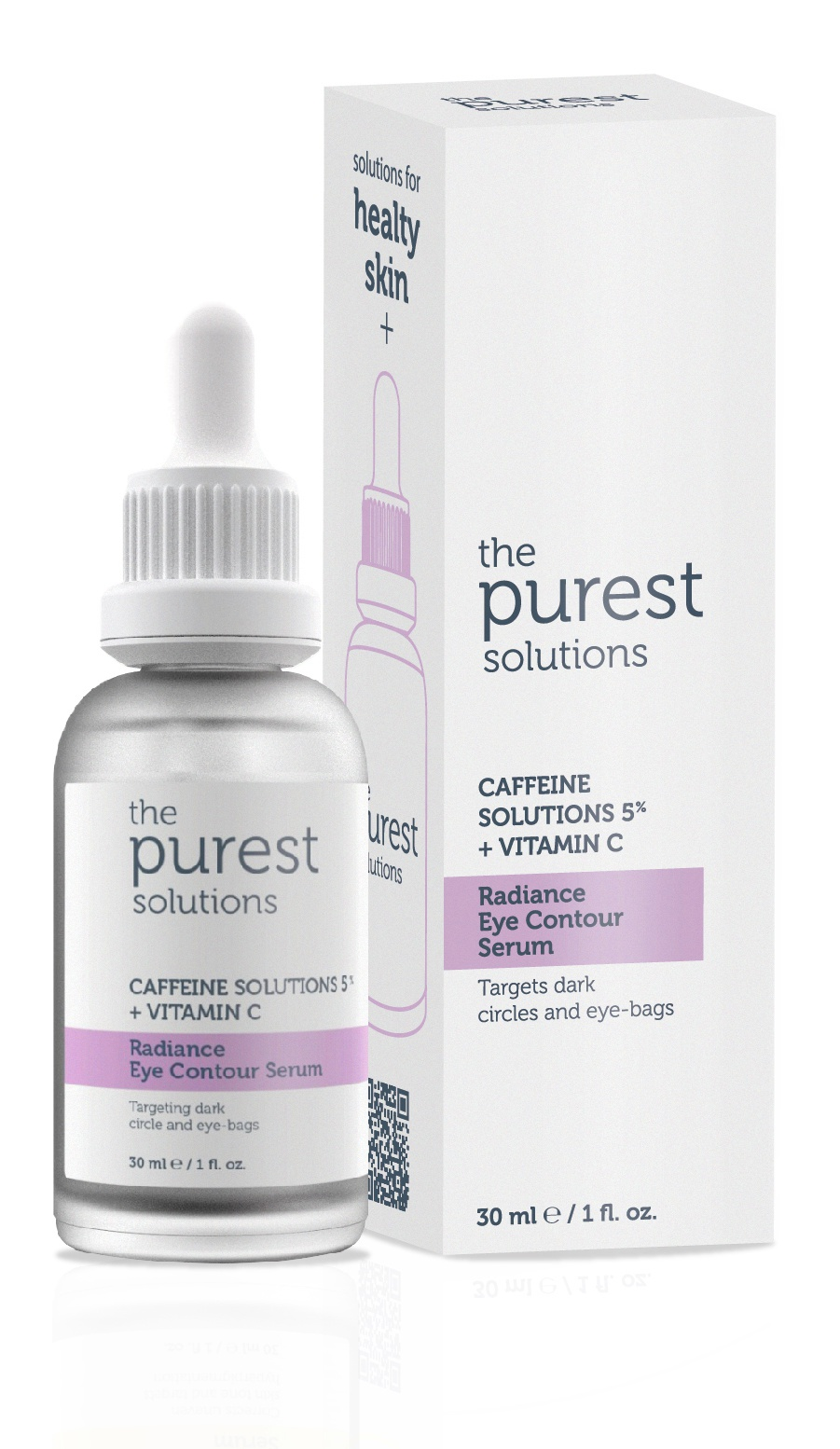 The Purest Solutions Caffeine Solutions 5% + Vitamin C