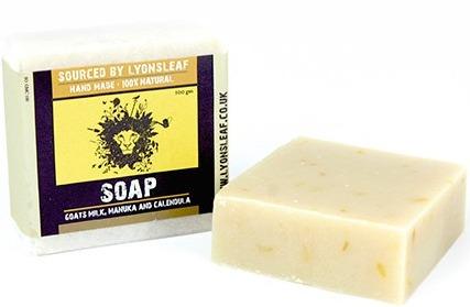 Lyonsleaf Soap-Goats Milk,Manuka Honey & Calendula