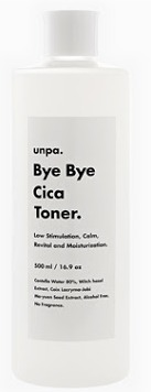 unpa Bye Bye Cica Toner