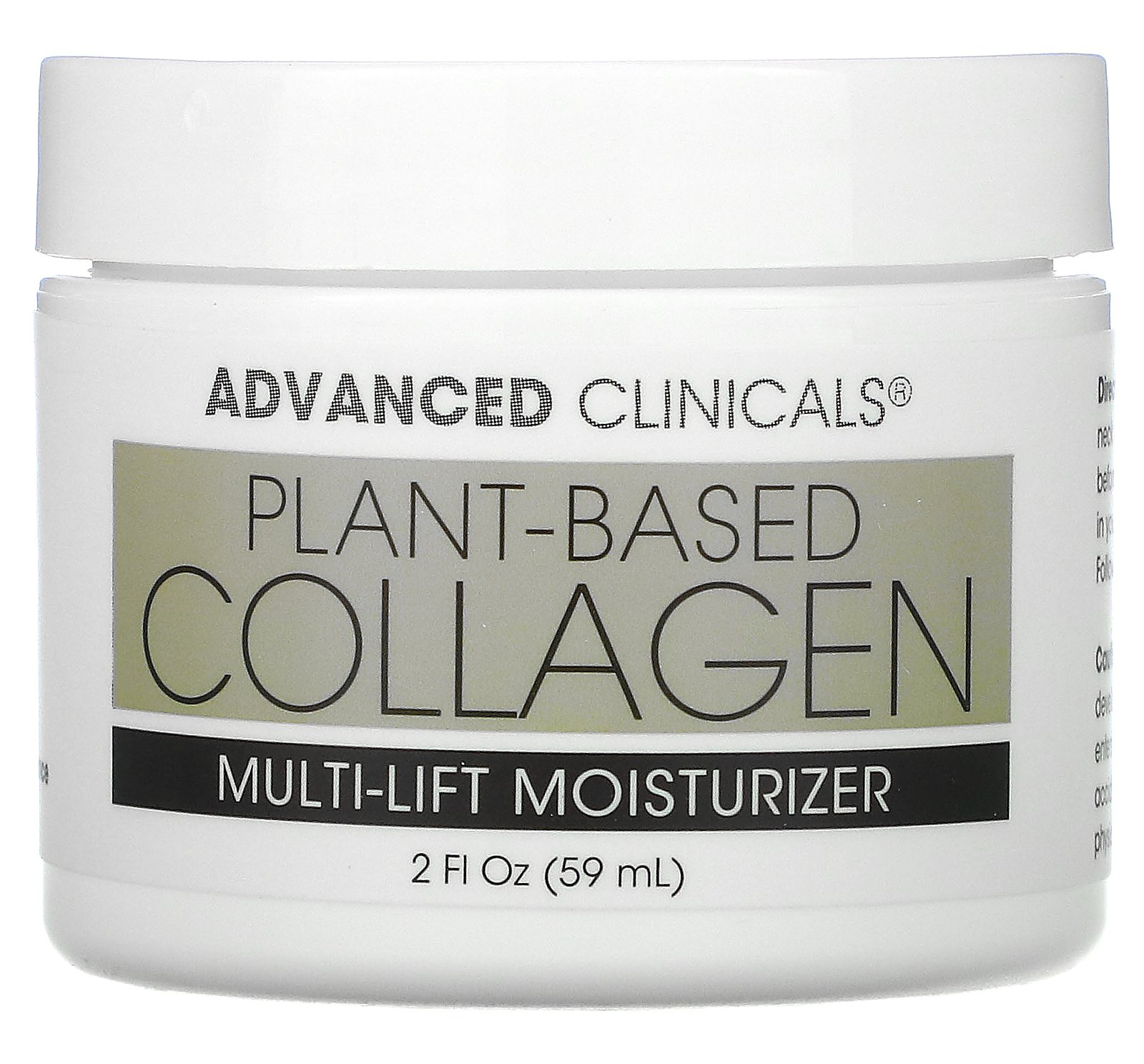 Advanced Clinicals Plant-Based Collagen