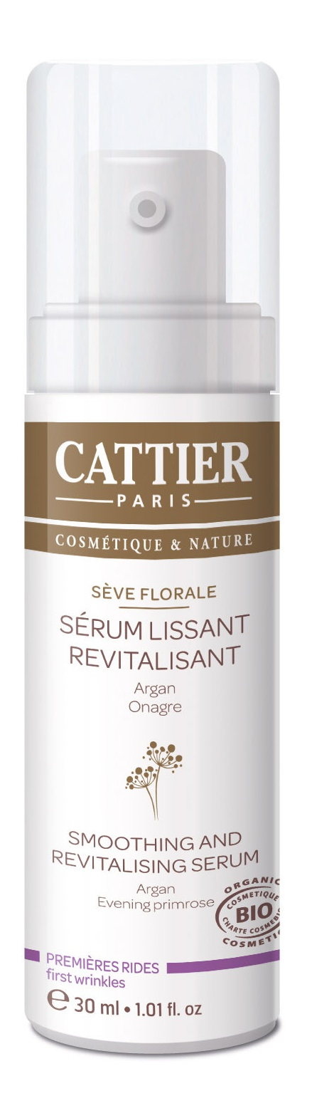 Cattier Sève Florale Smoothing And Revitalising Serum