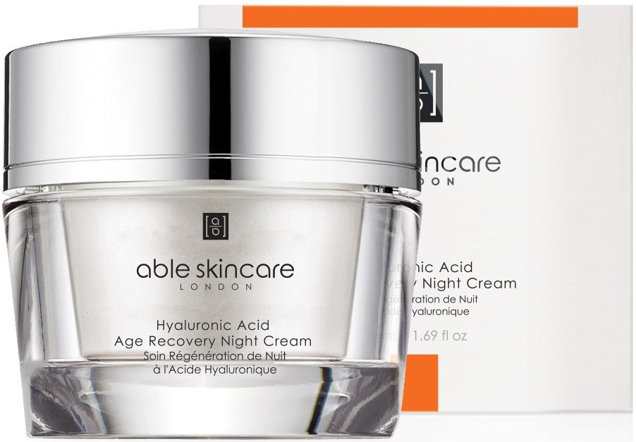 Able Skincare Hyaluronic Acid Age Recovery Night Cream