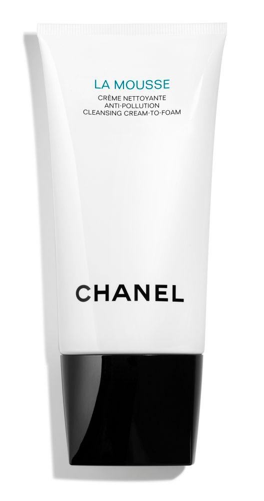 Chanel La Mousse Anti-Pollution Cleansing Cream to Foam