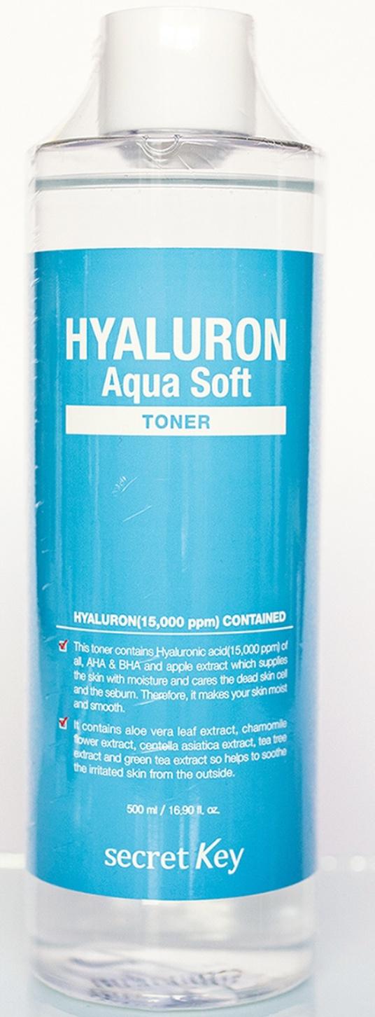 Secret Key Hyaluron Aqua Soft Toner