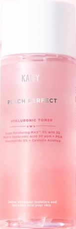 Kaley Skincare Peach Perfect Hyaluronic Toner