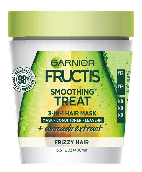 Garnier Fructis Smoothing Treat 1 Minute Hair Mask + Avocado Extract