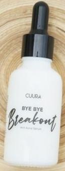 CUURA Bye- Bye Breakout (Anti- Acne Serum)