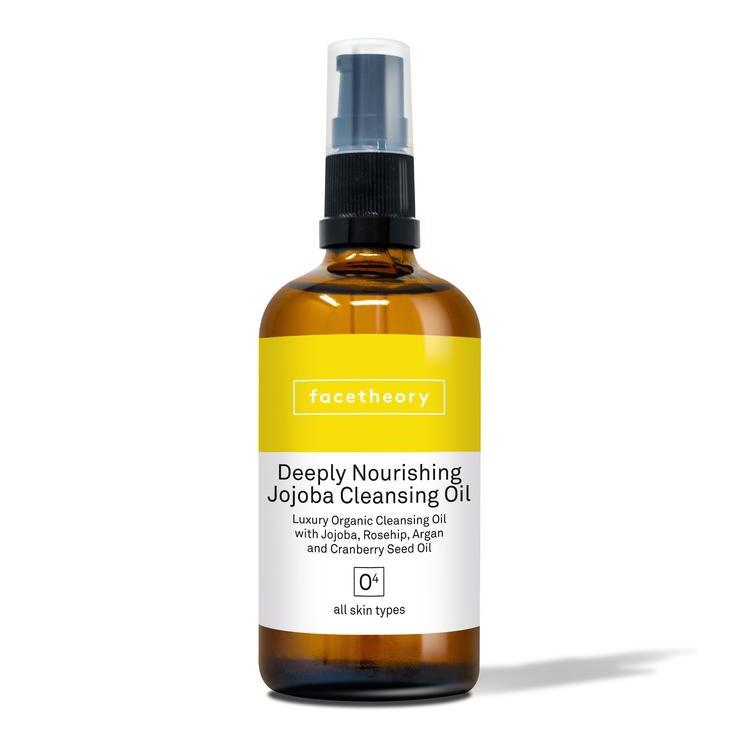 facetheory Deeply Nourishing Jojoba Cleansing Oil O4