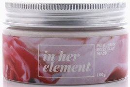 in her element Petal Skin Rose Clay Mask