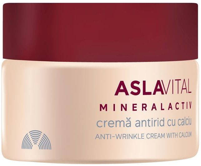 Farmec gerovital Aslavital Mineralactiv Anti-Wrinkle Cream With Calcium