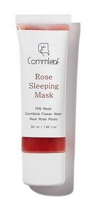 Commleaf Rose Sleeping Mask
